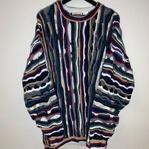 🔥 Vtg Coogi Style Golfsmith Sweater